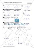 Flächeninhalt und Umfang: Rechteck und Quadrat Preview 30