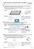 Flächeninhalt und Umfang: Rechteck und Quadrat Preview 32