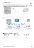 Flächeninhalt und Umfang: Rechteck und Quadrat Preview 34