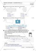 Flächeninhalt und Umfang: Rechteck und Quadrat Preview 36