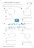 Flächeninhalt und Umfang: Rechteck und Quadrat Preview 7