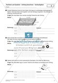 Flächeninhalt und Umfang: Rechteck und Quadrat Preview 9