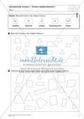 Die Unterscheidung geometrischer Formen Preview 3