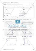 Flächeninhalt und Umfang: Das Parallelogramm Preview 14