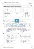 Flächeninhalt und Umfang: Das Parallelogramm Preview 16