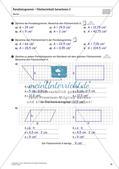 Flächeninhalt und Umfang: Das Parallelogramm Preview 17
