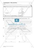 Flächeninhalt und Umfang: Das Parallelogramm Preview 5