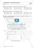 Flächeninhalt und Umfang: Das Parallelogramm Preview 8