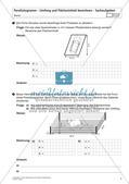 Flächeninhalt und Umfang: Das Parallelogramm Preview 9