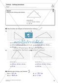 Flächeninhalt und Umfang: Das Dreieck Preview 12