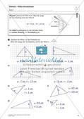 Flächeninhalt und Umfang: Das Dreieck Preview 13