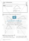 Flächeninhalt und Umfang: Das Dreieck Preview 3