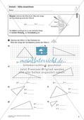 Flächeninhalt und Umfang: Das Dreieck Preview 4