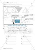 Flächeninhalt und Umfang: Das Dreieck Preview 7