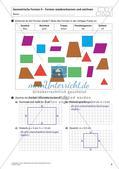Flächeninhalt und Umfang: Geometrische Formen Preview 10