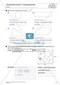 Flächeninhalt und Umfang: Geometrische Formen Preview 11