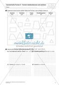 Flächeninhalt und Umfang: Geometrische Formen Preview 3