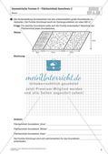 Flächeninhalt und Umfang: Geometrische Formen Preview 6
