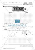 Flächeninhalt und Umfang: Geometrische Formen Preview 9