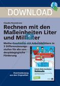 Das Rechnen mit den Maßeinheiten Liter und Milliliter Preview 1