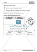 Das Kennenlernen der Maßeinheit Minuten Preview 11