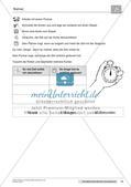 Das Kennenlernen der Maßeinheit Minuten Preview 15