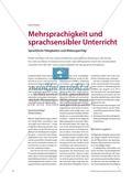 Mehrsprachigkeit und sprachsensibler Unterricht - Sprachliche Fähigkeiten und Bildungserfolg Preview 1