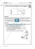 Den Ball mit der Hand, dem Fuß oder einem Schläger ins Tor treffen Preview 4