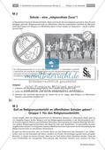 Religionsunterricht an staatlichen Schulen: Erörterung von Pro und Kontra Preview 1