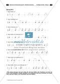 Musikalische Lückentexte: Notenwerte und Pausenzeichen Preview 12