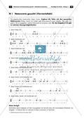 Musikalische Lückentexte: Notenwerte und Pausenzeichen Preview 6