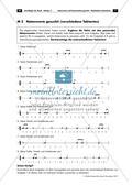 Musikalische Lückentexte: Notenwerte und Pausenzeichen Preview 7