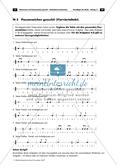Musikalische Lückentexte: Notenwerte und Pausenzeichen Preview 8