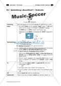 Lernspiel für Notenwerte und Basschlüssel: Music Soccer Preview 8