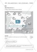 Vorbereitung einer mündlichen Prüfung: Spanische Regionen/das Wetter Preview 3