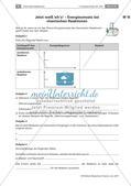 Energieumsatz bei chemischen Reaktionen: Lernerfolgskontrolle Preview 1