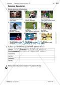 Freizeitaktivitäten und Sportarten: Einführung des Wortschatzes Preview 2