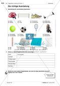 Freizeitaktivitäten und Sportarten: Einführung des Wortschatzes Preview 3