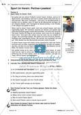 Freizeitaktivitäten und Sportarten: Üben und Anwenden von Wortschatz Preview 9