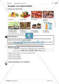 Lebensmittel und Getränke - Einführung des Wortschatzes Preview 1