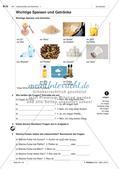 Lebensmittel und Getränke - Einführung des Wortschatzes Preview 2