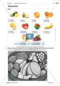 Lebensmittel und Getränke - Einführung des Wortschatzes Preview 3