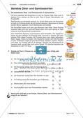 Lebensmittel und Getränke - Anwenden und Üben des Wortschatzes Preview 1