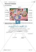 Lebensmittel und Getränke - Anwenden und Üben des Wortschatzes Preview 3