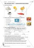 Lebensmittel und Getränke - Anwenden und Üben des Wortschatzes Preview 5