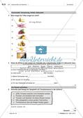 Lebensmittel und Getränke - Test und Selbsteinschätzung Preview 2
