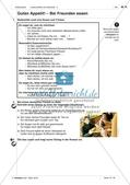 Gemeinsames Essen - Anwenden und Üben des Wortschatzes Preview 9