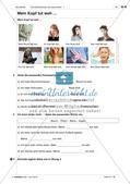 Körperteile und Befinden - Üben und Anwenden des Wortschatzes Preview 10