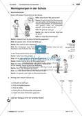 Körperteile und Befinden - Üben und Anwenden des Wortschatzes Preview 2