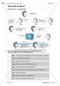 Körperteile und Befinden - Üben und Anwenden des Wortschatzes Preview 3